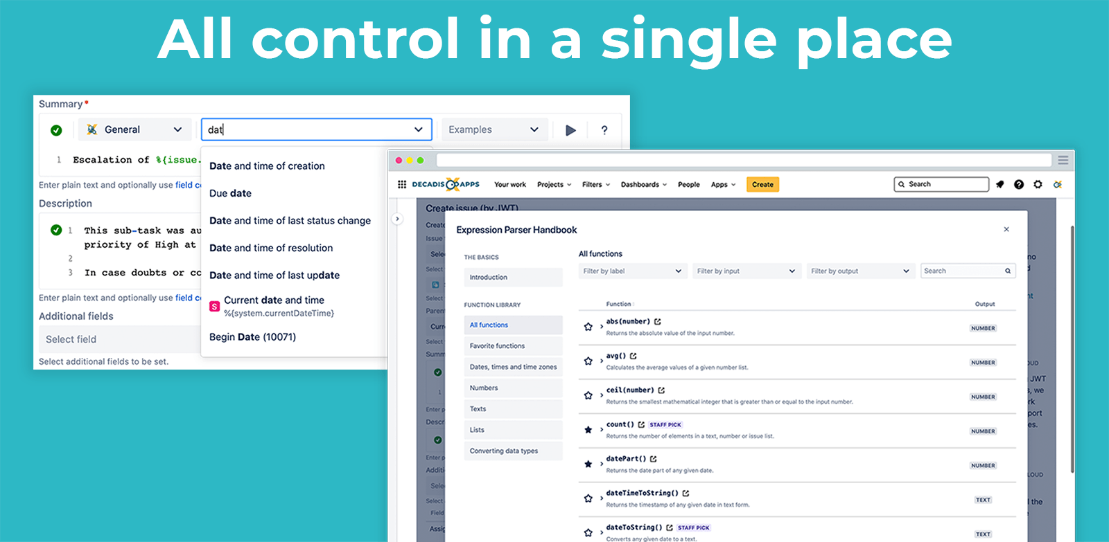 Jira Workflow Toolbox Cloud - Easy configuration for all skill levels